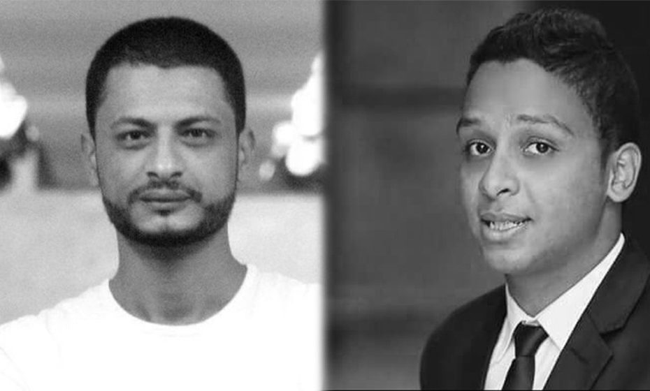 Mustafa Gamal and Galal El-Behairy